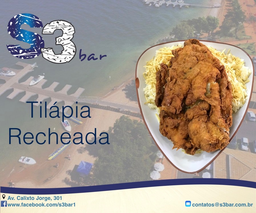 Tilápia Recheada S3 Bar