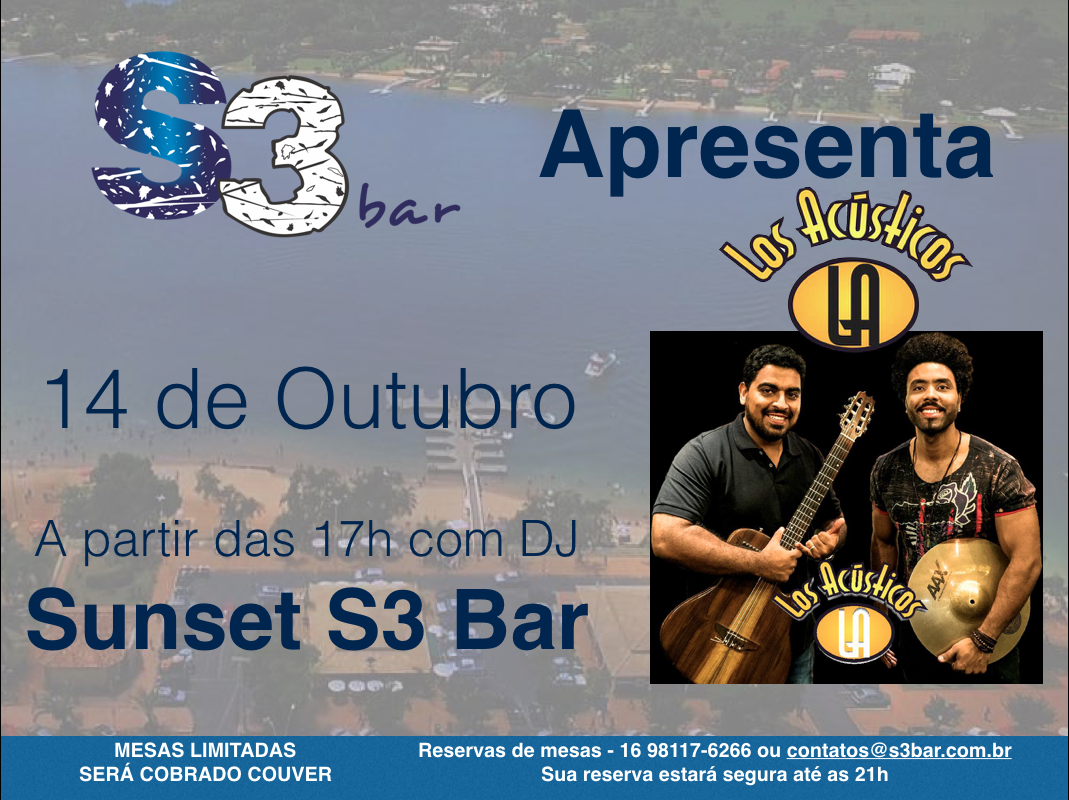 14 de Outubro Sunset S3 Bar